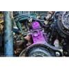 回收废旧发动机